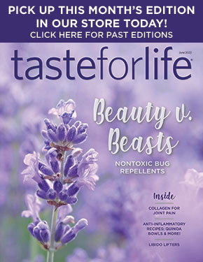 Taste for Life cover archive